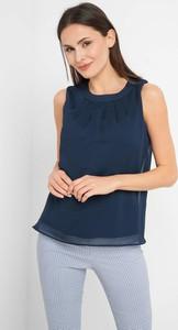 Bluzka ORSAY z okrągłym dekoltem z tkaniny bez rękawów