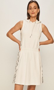 Sukienka Armani Exchange bez rękawów z bawełny