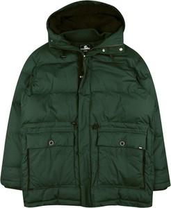 Zielona kurtka Edwin z bawełny krótka