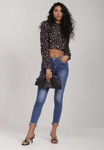 Niebieskie jeansy Renee z jeansu