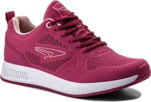 Sneakersy sprandi - wp07-17097-05 różowy ciemny