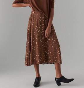 Brązowa spódnica Mohito midi w stylu casual