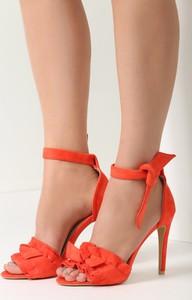 Sandały renee na szpilce