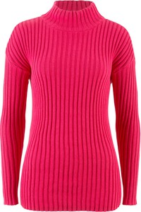 Sweter bonprix bpc bonprix collection w street stylu bez wzorów