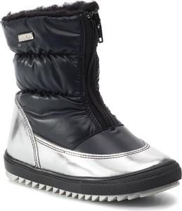 Buty dziecięce zimowe Bartek z wełny na zamek