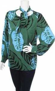 Bluzka Iren Klairie z długim rękawem ze sznurowanym dekoltem w stylu boho