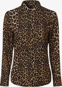 Brązowa bluzka Scotch & Soda w stylu casual z długim rękawem