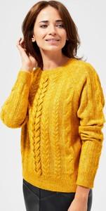 Sweter Moodo w stylu casual z wełny