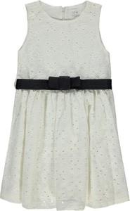 Sukienka dziewczęca Königsmühle z bawełny w kwiatki