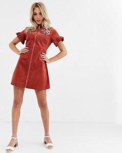 Czerwona sukienka Glamorous