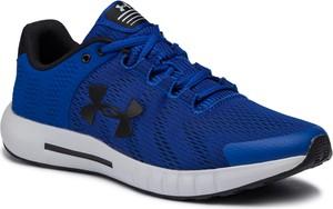 Granatowe buty sportowe Under Armour sznurowane