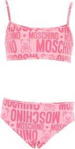 Różowy strój kąpielowy Moschino