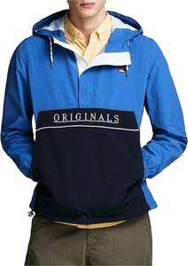 Niebieska kurtka Jack & Jones w sportowym stylu krótka