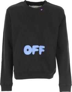 Czarna bluza Off-white C/o Virgil Abloh z bawełny