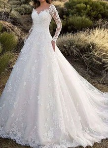 Sukienka Cikelly z dekoltem w kształcie litery v maxi z długim rękawem