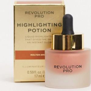 Revolution Pro – Highlighting Potion – Rozświetlacz – Molten Amber-Złoty