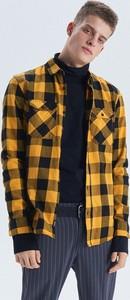 Żółta koszula Cropp w stylu casual