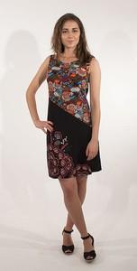 Sukienka Coline bez rękawów z okrągłym dekoltem