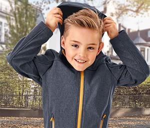 Niebieska kurtka dziecięca Tchibo