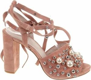 Różowe sandały Kenneth Cole