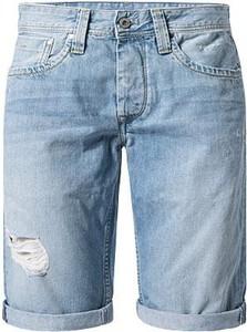 Spodenki Pepe Jeans w stylu casual z bawełny