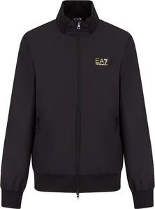 Czarna bluza Emporio Armani z dzianiny w stylu casual