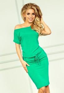 Zielona sukienka NUMOCO midi