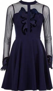 Sukienka VISSAVI w stylu casual z długim rękawem mini