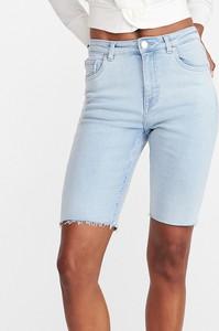 Szorty Reserved z jeansu w street stylu