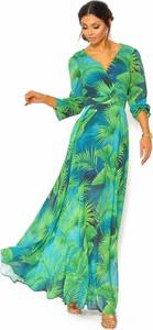 Sukienka Sukienki M&M z dekoltem w kształcie litery v maxi
