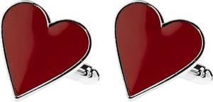 Em Men`s Accessories Spinki do mankietów tematyczne serce EM 42