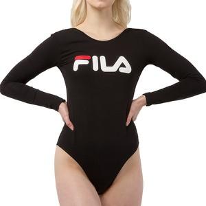 Bluzka Fila w sportowym stylu z okrągłym dekoltem