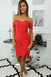 Czerwona sukienka fashion-freak.pl
