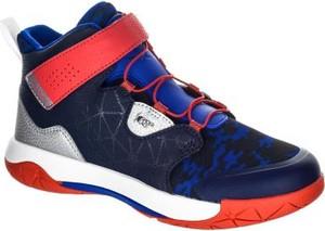 3852d53b4 Niebieskie buty sportowe dziecięce Tarmak sznurowane