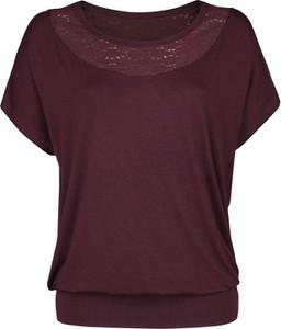 T-shirt Emp w stylu casual z krótkim rękawem