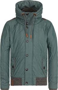 Zielona kurtka Naketano w stylu casual