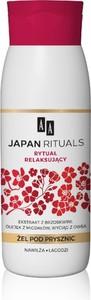 AA, Japan Rituals, relaksujący żel pod prysznic, 400 ml