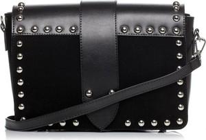 Czarna torebka Stylove z aplikacjami mała na ramię