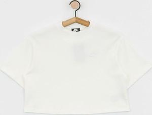 T-shirt Nike z bawełny z krótkim rękawem z okrągłym dekoltem