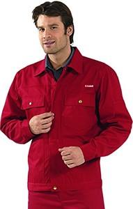 Czerwona kurtka Planam w stylu casual