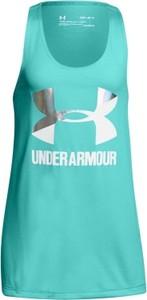 Błękitna koszulka dziecięca Under Armour