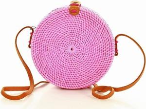 Różowa torebka Paolo Bags