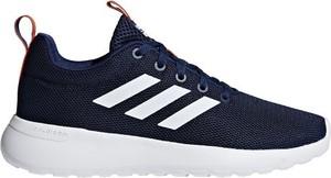 Granatowe buty sportowe dziecięce Adidas sznurowane