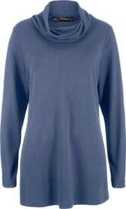 T-shirt bonprix bpc bonprix collection z długim rękawem z golfem