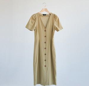 Sukienka Reserved z krótkim rękawem w stylu casual z bawełny