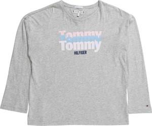 Bluzka dziecięca Tommy Hilfiger z tkaniny