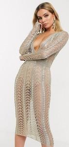 Sukienka Sorelle z dekoltem w kształcie litery v