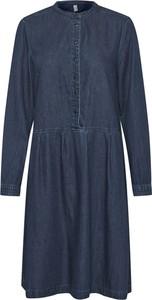 Niebieska sukienka Culture mini