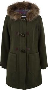Zielony płaszcz bonprix bpc bonprix collection długa