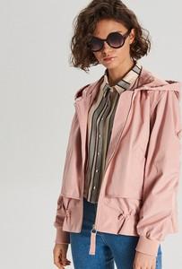 Różowa kurtka Cropp